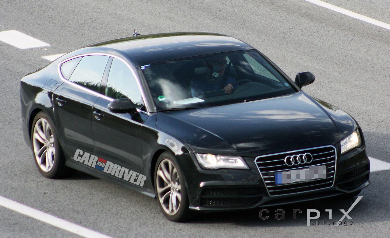 2012 Audi S7 Spy Photos