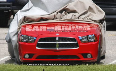 2011 Dodge Charger Interior Spy Photos