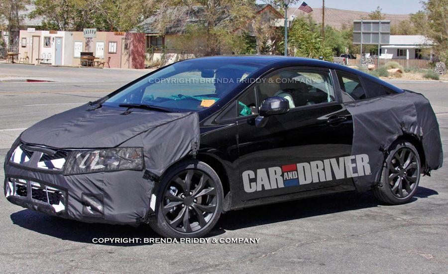 2012 Honda Civic Si Spy Photos