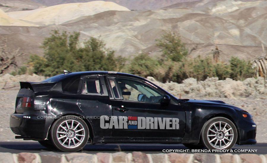 2012/2013 Toyota FT-86 / Subaru 0846 Sports Coupe Spy Photos