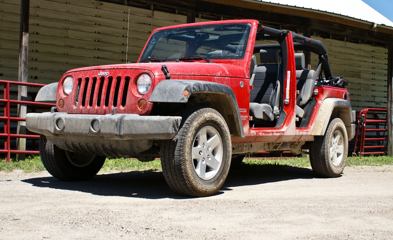 2010 Jeep Wrangler Unlimited Sport  Review  Car and Driver