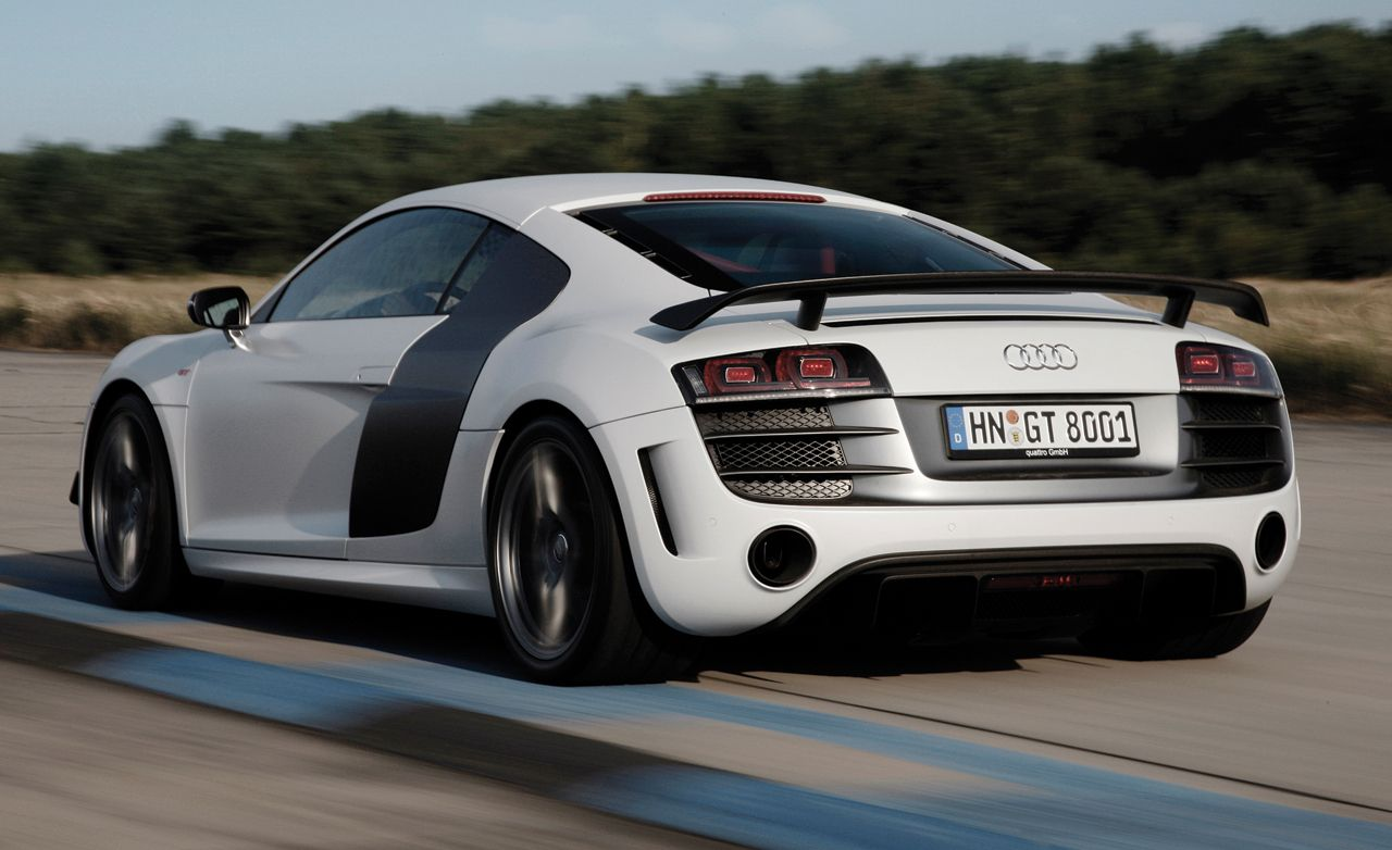 2011 Audi R8 Gt First Drive Review Car And Driver