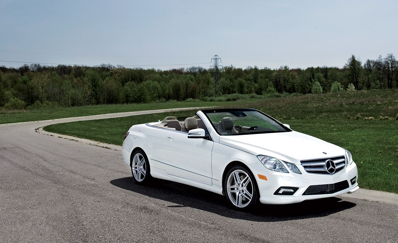 MercedesBenz E Cabriolet First Drive Review Car And Driver - 2014 mercedes benz e class 2 door convertible dealer invoice