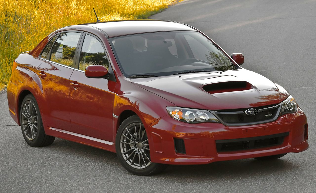 2011 subaru impreza wrx sedan instrumented test car and driver. Black Bedroom Furniture Sets. Home Design Ideas