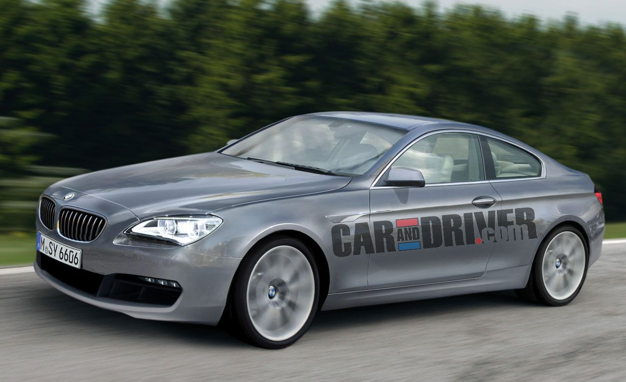 2012 BMW 6-series Rendered