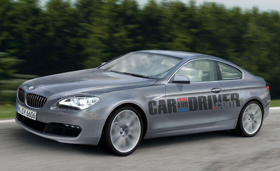 2012 BMW 6-series Rendered