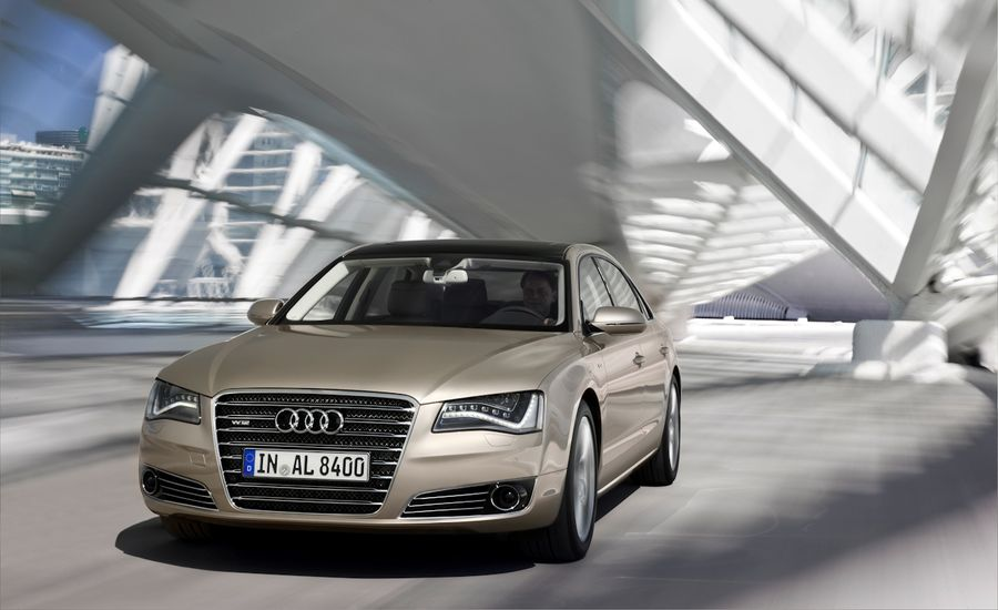 Audi A8 Review: 2011 Audi A8L W12 First Drive | Car and Driver
