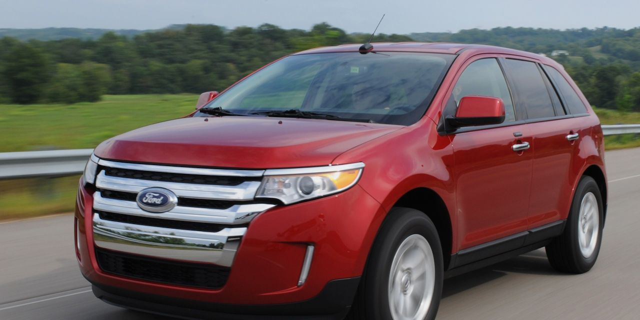 Ford Edge Review  Ford Edge Sport First Drive Car And Driver