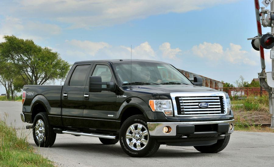 ford f series review 2011 ford f 150 ecoboost drive car and driver. Black Bedroom Furniture Sets. Home Design Ideas