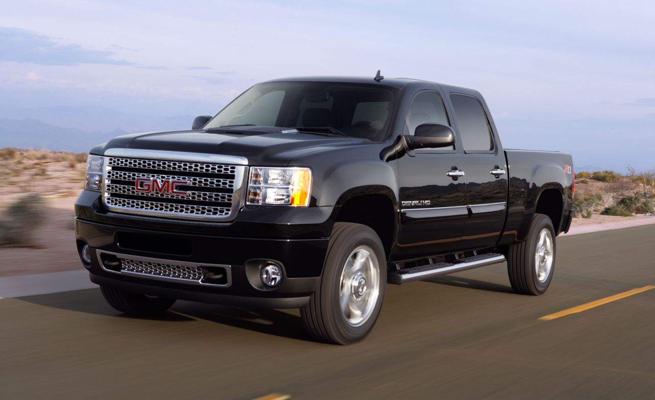 2015 Gmc Sierra 2500 Hd Denali 4x4 Crew Cab Test Review Car And Accesorios Para Camionetas Driver