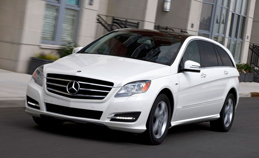Mercedes-Benz R-class Reviews: 2011 Mercedes-Benz R350 ...