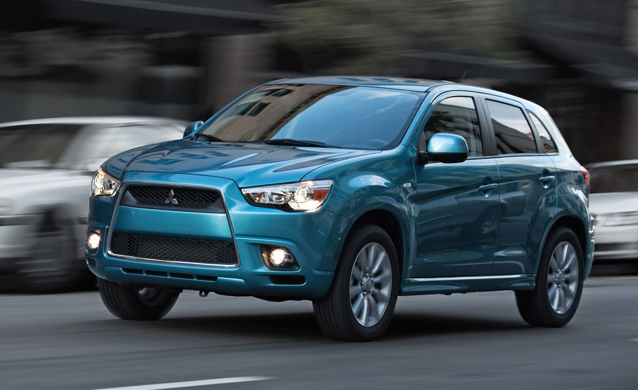 mitsubishi outlander review 2011 outlander sport drive car and driver rh caranddriver com