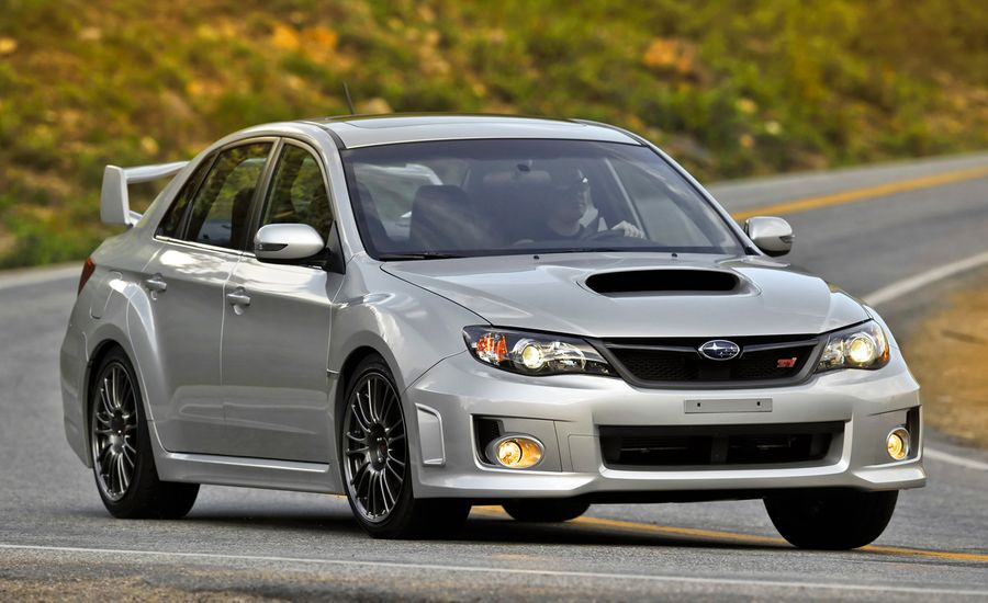subaru impreza wrx review 2011 subaru wrx sti sedan test car and driver. Black Bedroom Furniture Sets. Home Design Ideas