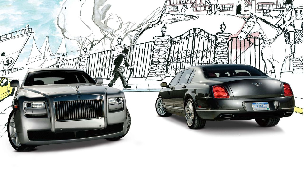2010 Bentley Continental Flying Spur Speed vs. 2011 Rolls-Royce Ghost