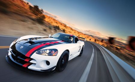 2010 Dodge Viper ACR Tackles Virginia City Hill Climb