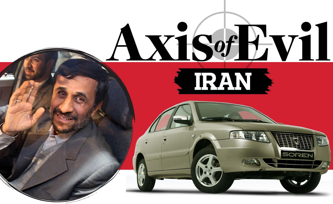 "Cars from the ""Axis of Evil"": Iran"