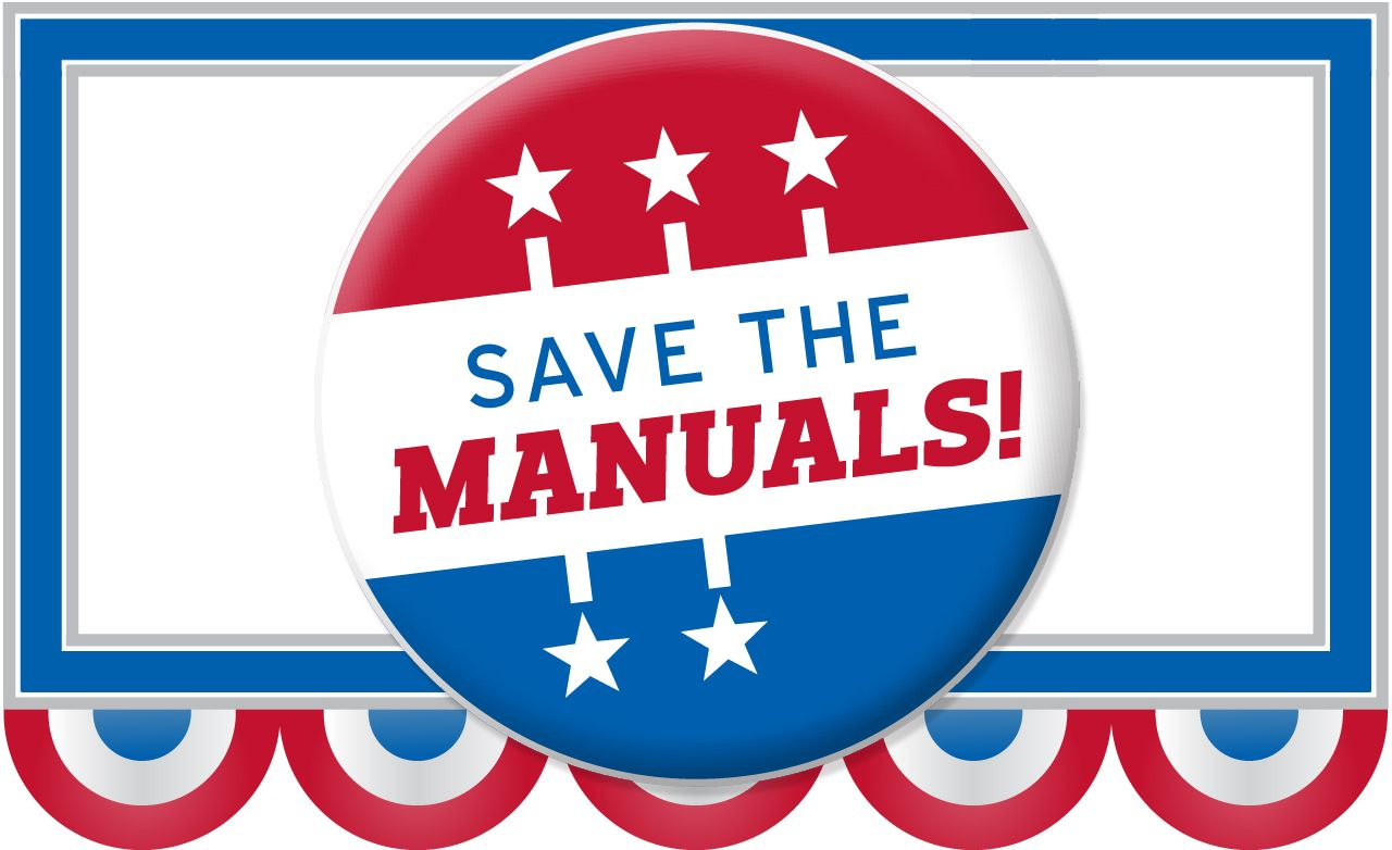 Save the Manuals!