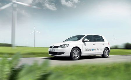 Volkswagen Golf Blue-E-Motion Won't Hit the Market Until 2013