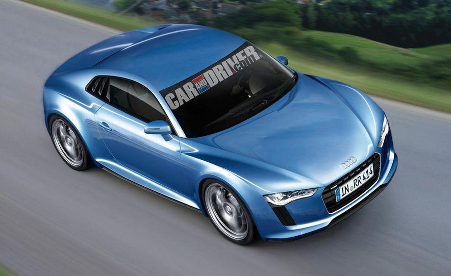 2014 Audi R4 (artist's rendering) - Slide 1