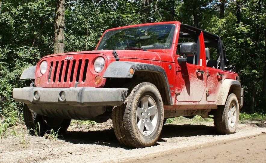2010 Jeep Wrangler Unlimited Sport - Slide 1