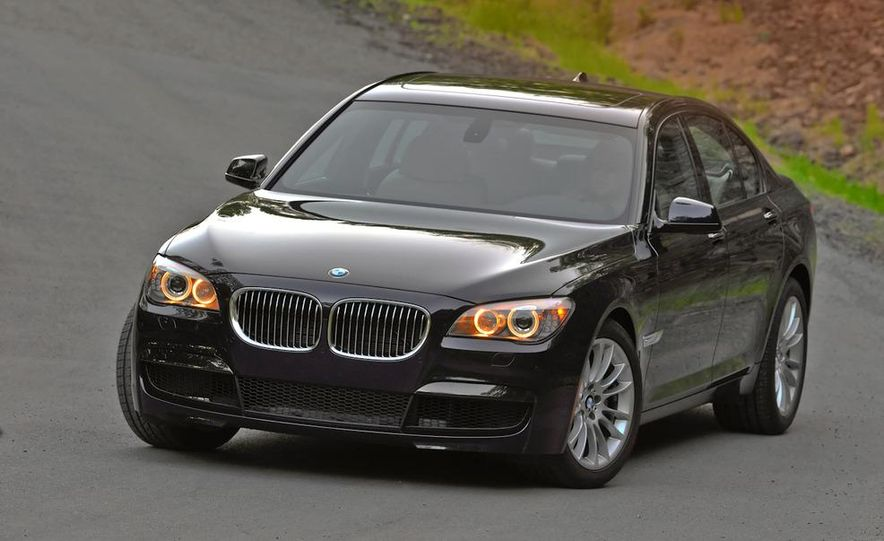 2011 BMW 740i with M Sport Package - Slide 5