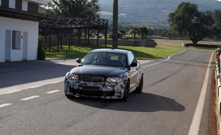 2012 BMW 1-series M coupe (prototype) - Slide 1