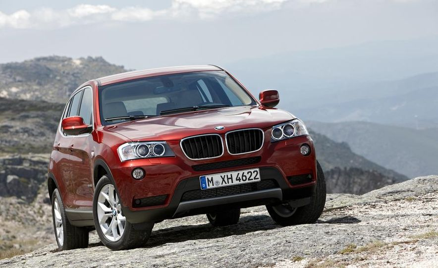 2011 BMW X3 xDrive20d - Slide 118
