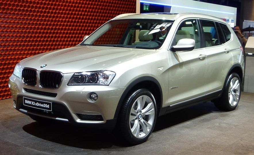 2011 BMW X3 xDrive20d - Slide 1