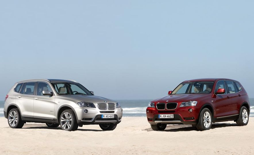 2011 BMW X3 xDrive20d - Slide 11