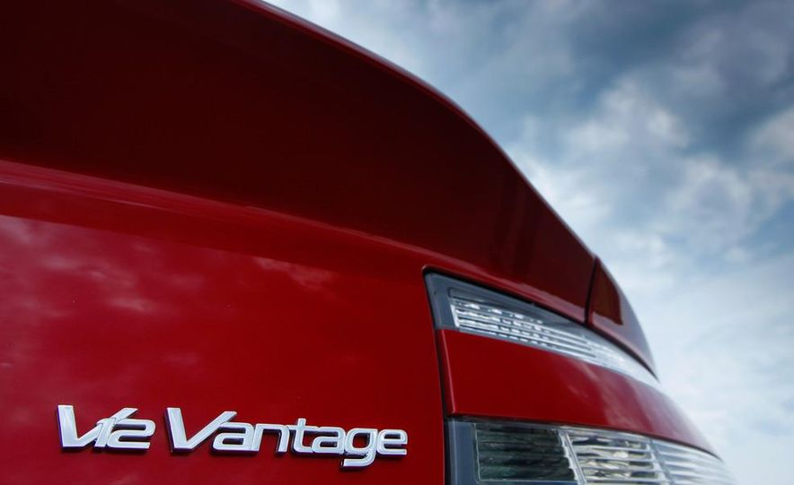 2011 Aston Martin V-12 Vantage - Slide 13