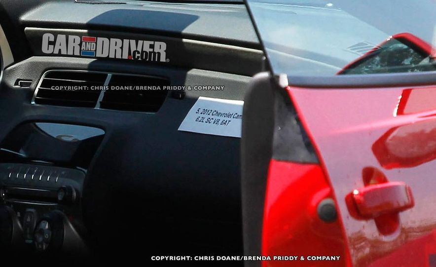 2012 Chevrolet Camaro Z28 (spy photo) - Slide 7