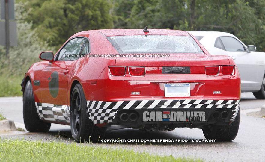2012 Chevrolet Camaro Z28 (spy photo) - Slide 6