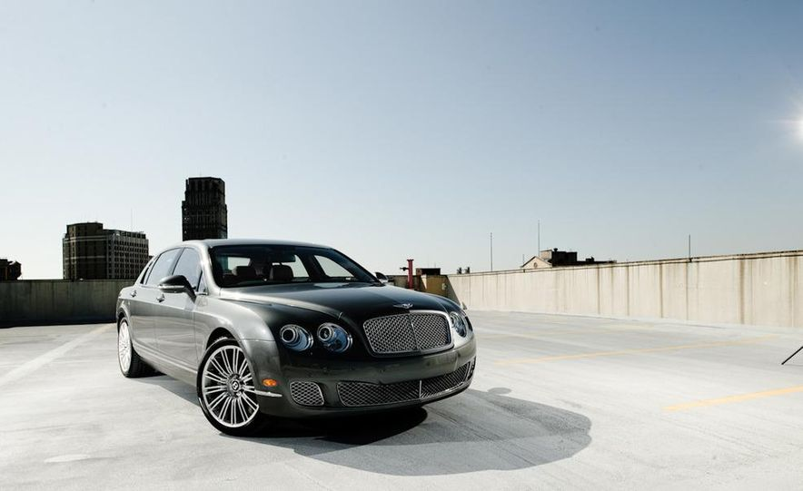 2011 Rolls-Royce Ghost and 2010 Bentley Continental Flying Spur Speed - Slide 2
