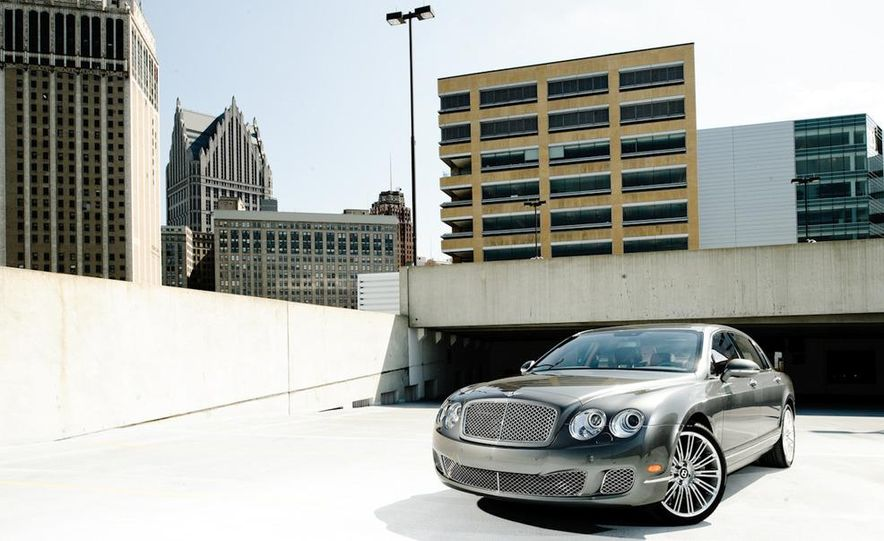 2011 Rolls-Royce Ghost and 2010 Bentley Continental Flying Spur Speed - Slide 3