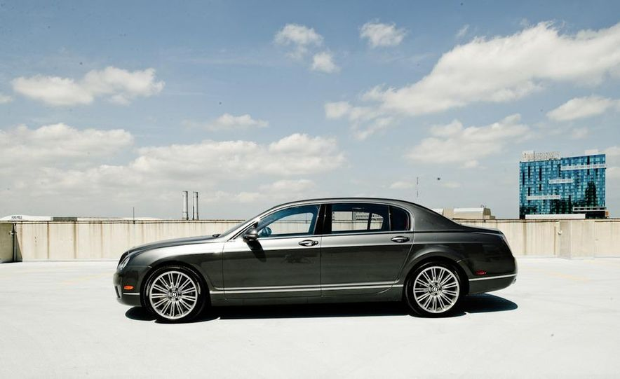 2011 Rolls-Royce Ghost and 2010 Bentley Continental Flying Spur Speed - Slide 4