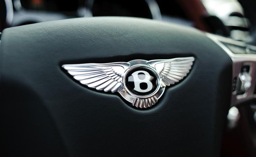 2011 Rolls-Royce Ghost and 2010 Bentley Continental Flying Spur Speed - Slide 10