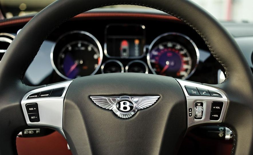 2011 Rolls-Royce Ghost and 2010 Bentley Continental Flying Spur Speed - Slide 8