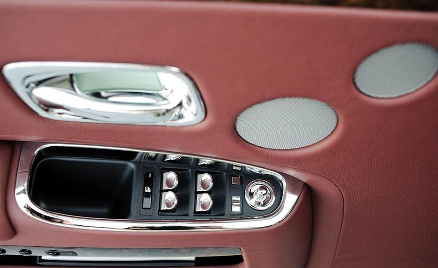 2011 Rolls-Royce Ghost and 2010 Bentley Continental Flying Spur Speed - Slide 40