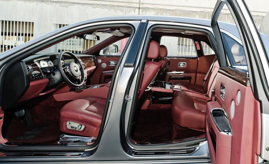 2011 Rolls-Royce Ghost and 2010 Bentley Continental Flying Spur Speed - Slide 29