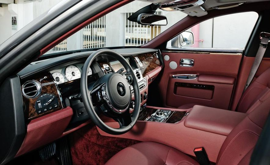 2011 Rolls-Royce Ghost and 2010 Bentley Continental Flying Spur Speed - Slide 30