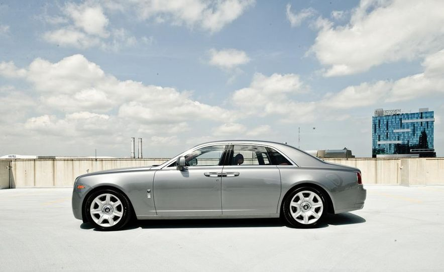 2011 Rolls-Royce Ghost and 2010 Bentley Continental Flying Spur Speed - Slide 20