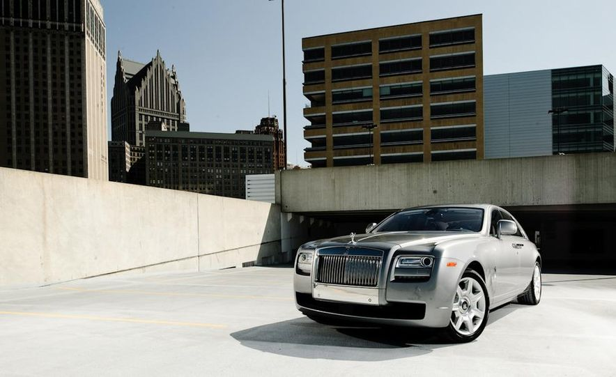 2011 Rolls-Royce Ghost and 2010 Bentley Continental Flying Spur Speed - Slide 21