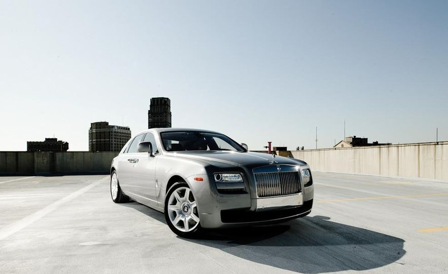 2011 Rolls-Royce Ghost and 2010 Bentley Continental Flying Spur Speed - Slide 22