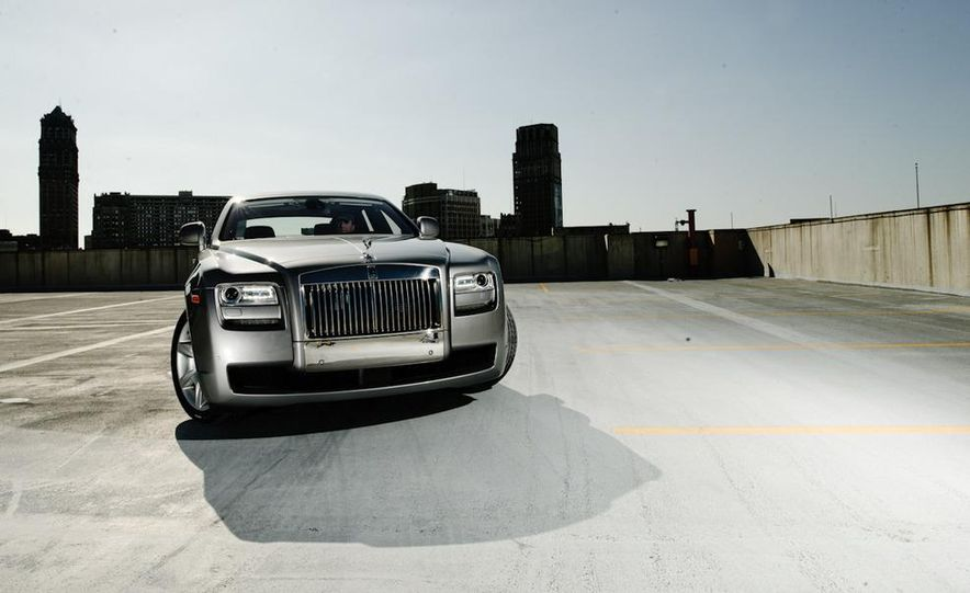 2011 Rolls-Royce Ghost and 2010 Bentley Continental Flying Spur Speed - Slide 23
