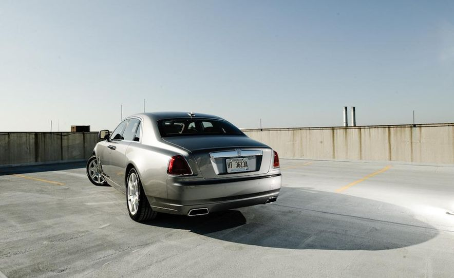 2011 Rolls-Royce Ghost and 2010 Bentley Continental Flying Spur Speed - Slide 24