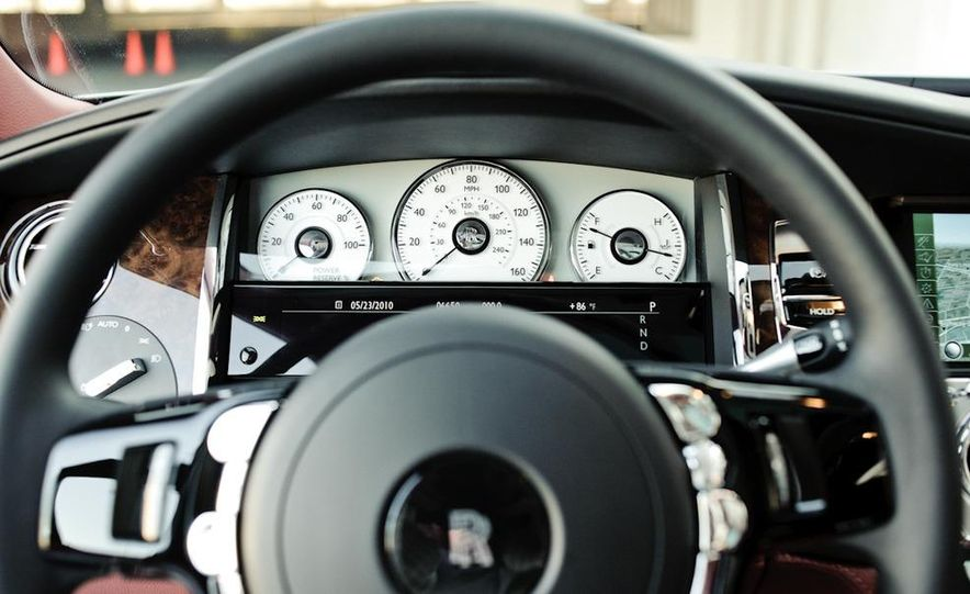 2011 Rolls-Royce Ghost and 2010 Bentley Continental Flying Spur Speed - Slide 31