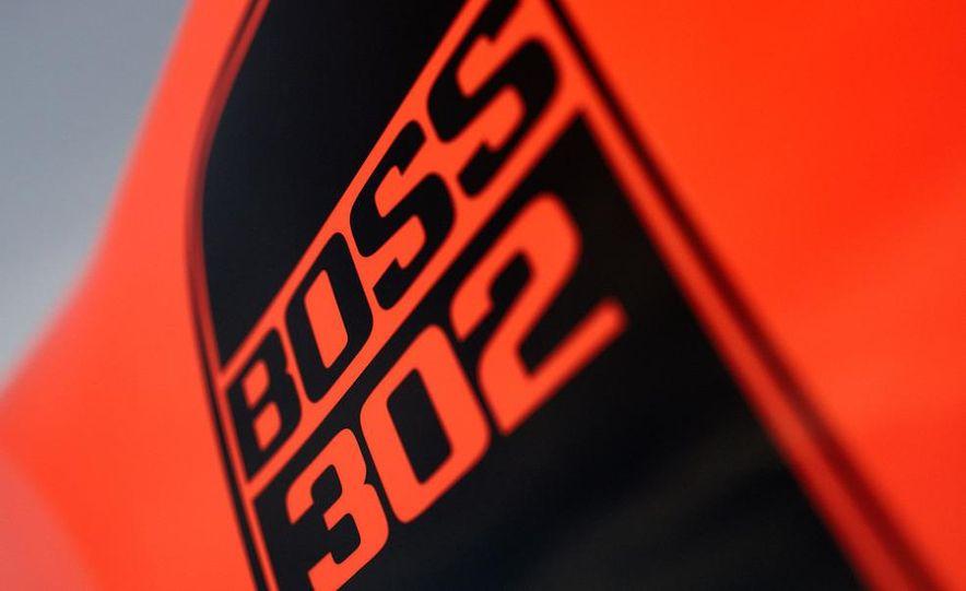 2012 Ford Mustang Boss 302 - Slide 16