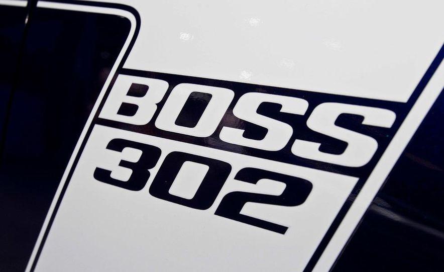 2012 Ford Mustang Boss 302 - Slide 18