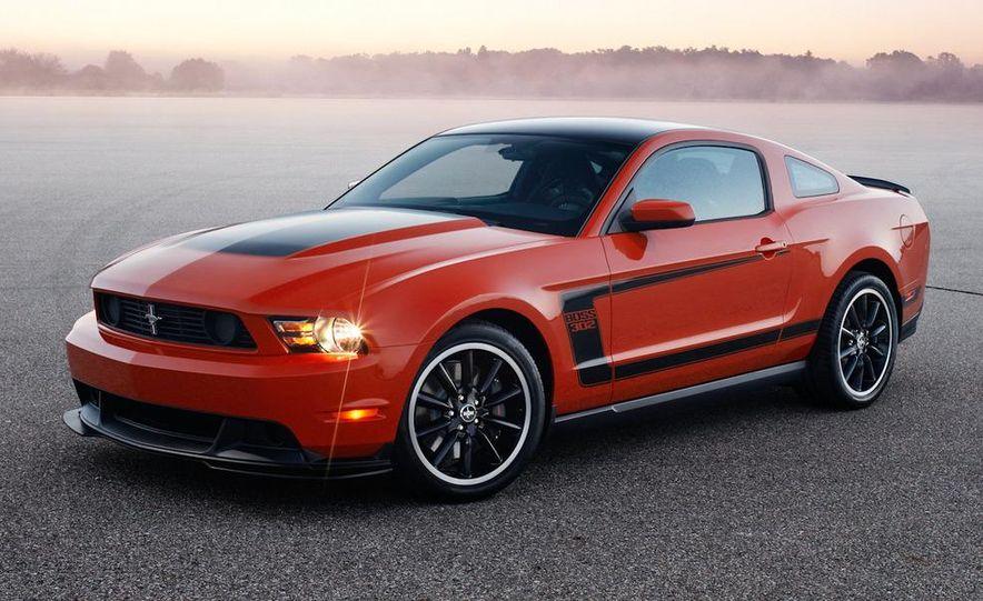 2012 Ford Mustang Boss 302 - Slide 14