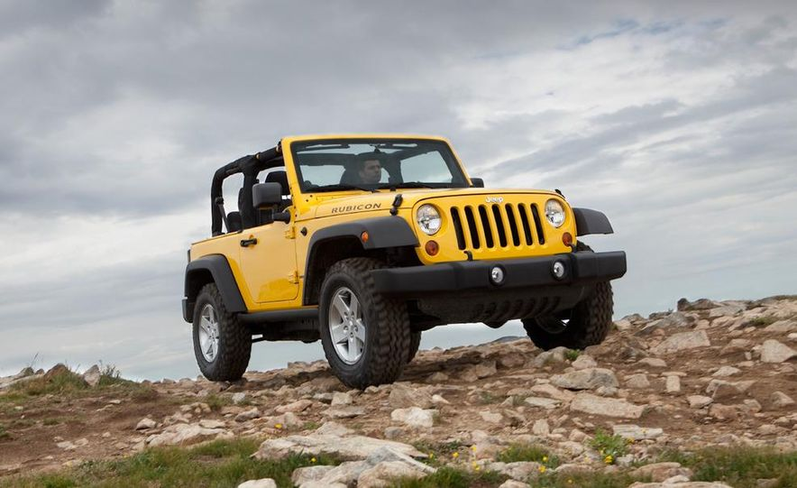 2011 Jeep Wrangler Sahara and Wrangler Unlimited Sahara - Slide 6